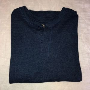 *MENS* Henley Long Sleeve Shirt